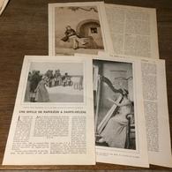 1914 LPT UNE IDYLLE DE NAPOLEON A SAINTE HELENE BESTY HARPE - Sammlungen