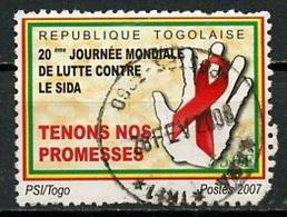 Togo 2007 Y&T N°2054 - Michel N°(?) (o) - 550f Lutte Contre Le Sida - Togo (1960-...)