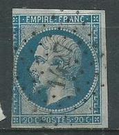 Timbre Napoleon III  1854 Yvt 14A - 1853-1860 Napoleon III