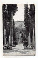 Tivoli (Roma) - Villa D'Este - Prospetto - Viaggiata Nel 1927 -  (FDC16609) - Tivoli