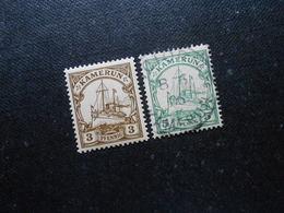D.R.7*MLH/8  3/5Pf   Deutsche Kolonien (Kamerun) 1900 - Mi 3,60 € - Colony: Cameroun