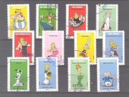 France Autoadhésifs Oblitérés (série Complète : Astérix Tous Irréductibles) (cachet Rond) - Used Stamps