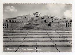 Crespano Del Grappa (Treviso) - Sacrario Monte Grappa - Ossario - Bel Timbro A Targhetta -Viaggiata Nel 1958 -(FDC16611) - Cimiteri Militari