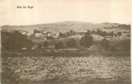 BAN DE SAPT CARTE ALLEMANDE 1915 AVEC CACHET AU VERSO - Senones