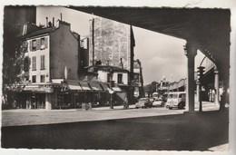 Cpsm 75 Paris XIXe  Place De Stalingrad Angle Faubourg Saint-Martin Et Boulevard De La Villette - Arrondissement: 19