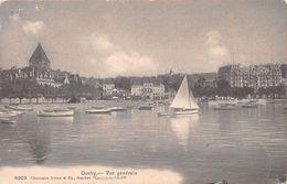 Ouchy - Vue Générale - Voilier - VD Vaud