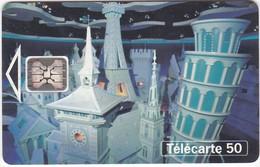 "TC070 TÉLÉCARTE 50 - EURO DISNEYLAND PARIS - ATTRACTION ""IT'S A SMALL WORLD"" - Disney"