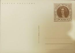 O) 1972 POLAND, ISAAC NEWTON, POSTAL STATIONERY XF - 1944-.... Republic