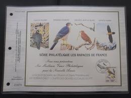 FRANCE Feuillet CEF De 1984 Série Limitée Rapaces De France (tirage 25000 Ex.) - Documents De La Poste