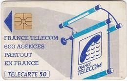 TC078 TÉLÉCARTE 50 - FRANCE TELECOM - 600 AGENCES PARTOUT EN FRANCE - Telecom Operators