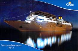 PAQUEBOT De CROISIERE - COSTA NEO ROMANTICA 2/ 2 (Costa Crociere Italie / USA ) CPM GF - Liner Cruise Ship - Piroscafi