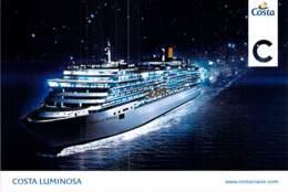 PAQUEBOT De CROISIERE - COSTA LUMINOSA (Costa Crociere Italie / USA ) CPM GF - Liner Cruise Ship - Dampfer
