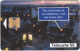 TC079 TÉLÉCARTE 50 - FRANCE TELECOM OUVRE SON CAPITAL - DEVENIR ACTIONNAIRE - Telecom Operators