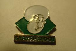 Pin's Champi Jandou Champignon - Alimentation