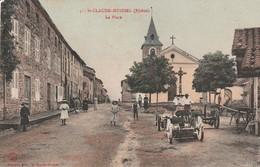 St Claude-huissel (rhone) La Place - France