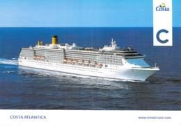 PAQUEBOT De CROISIERE - COSTA ATLANTICA ( Costa Crociere Italie/USA) CPM Grand Format 17.0 X 12 Cm - Liner Cruise Ship - Steamers