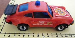 PORSCHE 930 RED TURBO BATTERY OPERATED - Giocattoli Antichi