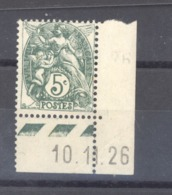 France  :  Yv  111  **   Type IIA  ,  Coin Daté - 1900-29 Blanc