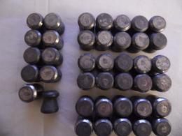 Plombs Diabolo Cal12. - Armes Neutralisées