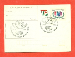 INTERI POSTALI-C176 -FDC - ANNULLO MILANO - 1946-.. République