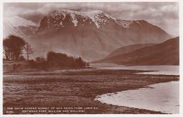 PC The Snow Capped Summit Of Ben Nevis From Loch Eil -  (43077) - Schottland