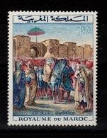 Maroc - YV 471 N** Le Sultan Par Delacroix - Marruecos (1956-...)