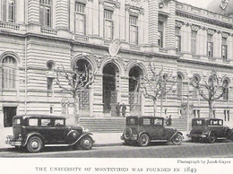 URUGUAY MONTEVIDEO Université   Document Original Américain De 1931 - Non Classificati