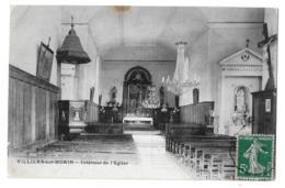 Villiers-sur-Morin  (Seine-et-Marne)   Intérieur De L'église - Frankreich