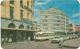 W4356 Messico - Tampico - Hotel Sevilla - Auto Cars Voitures Tram / Viaggiata 1968 - Messico