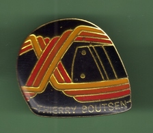 F1 THIERRY BOUTSEN *** CASQUE *** 1043 (80) - Automobile - F1