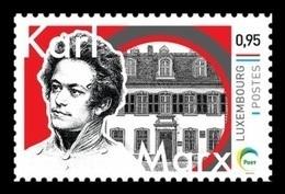 Luxembourg (Meng Post) 2018 No. 111 German Philosopher Karl Marx MNH ** - Neufs