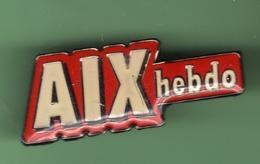 AIX HEBDO *** 1043 (80) - Médias