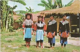 W4362 Thailand - Lisu Boys And Girls - Chiengmai - Folklore / Non Viaggiata - Costumi