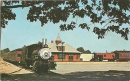 W4380 Akron - Cuyaloga Falls - Railroad Museum - Train / Non Viaggiata - Akron