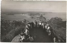 W4385 Rio De Janeiro - Vista Panoramica Da Guanabara E Pao De Açucar / Viaggiata 1958 - Rio De Janeiro