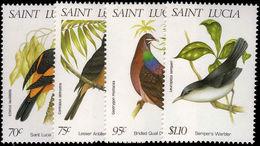 St Lucia 1998 Wildlife Birds Unmounted Mint. - St.Lucia (1979-...)