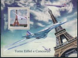 D - [401677]TB//**/Mnh-Sao Tomé-et-Principe 2009 - Tour Eiffel Et Concorde - Monuments