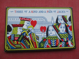 Three Of A Kind & Pair Of Jacks        -ref    3572 - Cartas