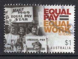 2019 AUSTRALIA EQUAL PAY EQUAL WORK Very Fine Postally Used Stamp - 2010-... Elizabeth II