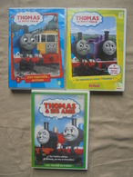 Lot - 3 DVD THOMAS LE PETIT TRAIN HIT Entertainment 2004/2010 - Familiari
