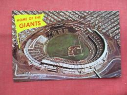 Home Of Giants        Candlestick Park Stadium San Francisco Ca.    -ref    3572 - Baseball