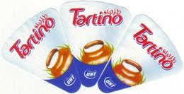 "Algérie - 3  étiquettes De  Fromage Fondu  ""Tartino"". - Cheese"