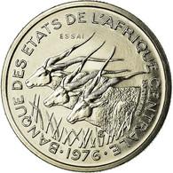 Monnaie, États De L'Afrique Centrale, 50 Francs, 1976, Paris, ESSAI, FDC - Congo (Democratic Republic 1964-70)