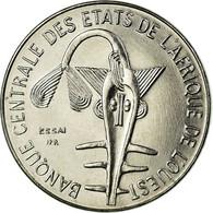 Monnaie, West African States, Franc, 1976, Paris, ESSAI, SPL, Steel, KM:E8 - Côte-d'Ivoire