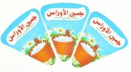 """Algérie - 3 étiquettes De  Fromage Fondu """" Aurès Plus"""" Nouveau Design. - Cheese"""