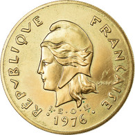 Monnaie, French Polynesia, 100 Francs, 1976, Paris, ESSAI, SUP+, Nickel-Bronze - Polynésie Française