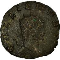 Monnaie, Gallien, Antoninien, AD 260-268, Rome, TTB, Billon, RIC:181var - 5. The Military Crisis (235 AD Tot 284 AD)