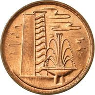 Monnaie, Singapour, Cent, 1982, TTB, Copper Clad Steel, KM:1a - Singapur
