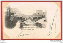 Servian ( Pezenas ) Pont De Lène - Timbre 1900s ( 2 Scans ) France - Pezenas