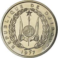 Monnaie, Djibouti, 100 Francs, 1977, SPL, Cupro-nickel, KM:E7 - Djibouti